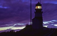Cape Dissapointment Lighthouse at night