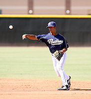 Cole Figueroa / San Diego Padres 2008 Instructional League..Photo by:  Bill Mitchell/Four Seam Images