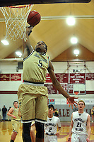 NWA Democrat-Gazette/MICHAEL WOODS &bull; @NWAMICHAELW<br /> Bentonville's Malik Monk (5) drives past Springdale defenders as he goes up for the dunk during their game Tuesday, February 16, 2016 at Springdale High School.