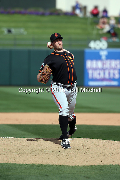 Ty Blach - San Francisco Giants 2016 spring training (Bill Mitchell)