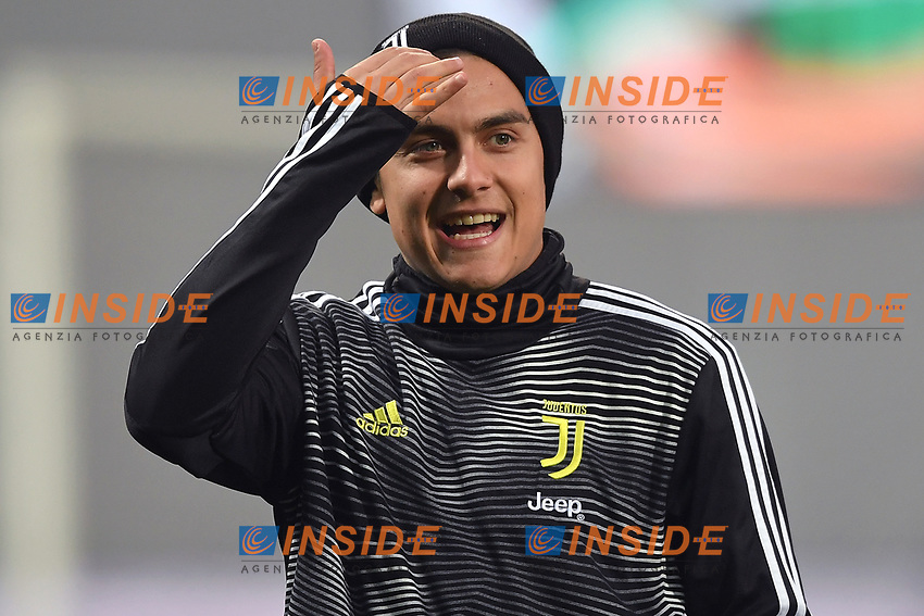 Paulo Dybala of Juventus during the warm up <br /> Reggio Emilia 10-2-2019 Stadio Mapei, Football Serie A 2018/2019 Sassuolo - Juventus<br /> Foto Andrea Staccioli / Insidefoto