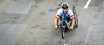 Lima, Peru -  1/September/2019 -   Patrick Desnoyers competes in the mens cycling H 3-5 road race at the Parapan Am Games in Lima, Peru. Photo: Dave Holland/Canadian Paralympic Committee.