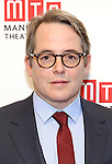 Matthew Broderick attends the 2016 Manhattan Theatre Club's Fall Benefit at 583 Park Avenue on November 21, 2016 in New York City.