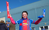 24th March 2018, McDiarmid Park, Perth, Scotland; Scottish Football Challenge Cup Final, Dumbarton versus Inverness Caledonian Thistle; Young Inverness Caledonian Thistle fan
