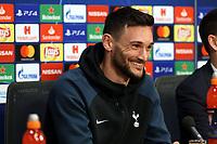 Hugo Lloris of Tottenham Hotspur during a Press Conference at the Johan Cruyff Arena on 7th May 2019