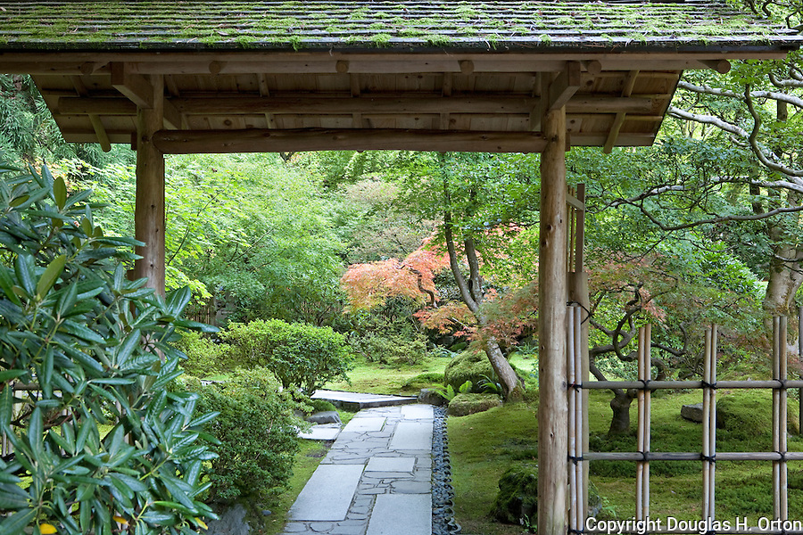 The Japanese Garden In Portland Is A 5.5 Acre Respit. Said To Be One Of