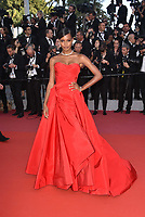 CANNES, FRANCE - MAY 12: Jasmine Tookes at 'Girls Of The Sun (Les Filles Du Soleil)' screening during the 71st annual Cannes Film Festival at Palais des Festivals on May 12, 2018 in Cannes, France.<br /> CAP/PL<br /> &copy;Phil Loftus/Capital Pictures