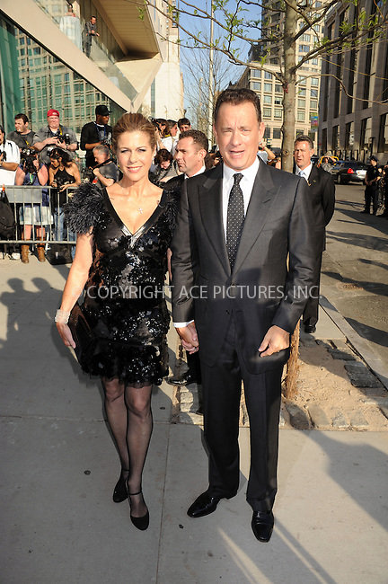 WWW.ACEPIXS.COM . . . . .  ....April 27 2009, New York City....Actor Tom Hanks and Rita Wilson at the 36th Film Society of Lincoln Center's Gala Tribute to Tom Hanks at Alice Tully Hall on April 27, 2009 in New York City.....Please byline: KRISTIN CALLAHAN - ACEPIXS.COM.... *** ***..Ace Pictures, Inc:  ..tel: (212) 243 8787..e-mail: info@acepixs.com..web: http://www.acepixs.com