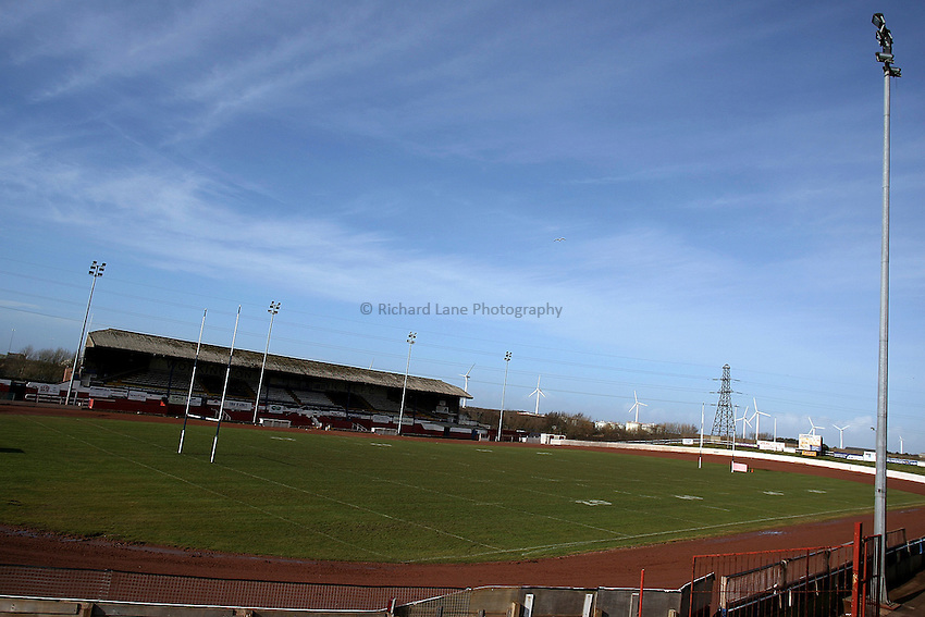 Photo: Paul Thomas..20/02/2007.Workington Rugby League Club.General view