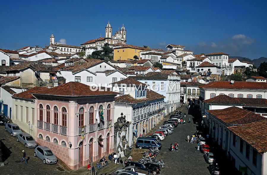 Cidade de Ouro Preto. Minas Gerais. 2011. Foto de Euler Paixao.