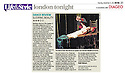 Matthew Bourne's Sleeping Beauty, Sadler's Wells in the Metro 11.12.12