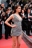 Sonia Ben Ammar attends the screening of 'Blackkklansman' during the 71st annual Cannes Film Festival at Palais des Festivals on May 14, 2018 in Cannes, France. <br /> CAP/GOL<br /> &copy;GOL/Capital Pictures