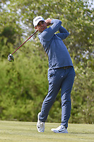 Shubhankar Sharma (IND) watches his tee shot on 15 during Round 1 of the Valero Texas Open, AT&amp;T Oaks Course, TPC San Antonio, San Antonio, Texas, USA. 4/19/2018.<br /> Picture: Golffile | Ken Murray<br /> <br /> <br /> All photo usage must carry mandatory copyright credit (&copy; Golffile | Ken Murray)