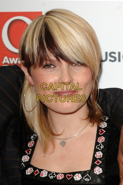 SISTER BLISS - FAITHLESS.The Q Awards 2006, Grosvenor House Hotel, London, UK..October 30th, 2006.Ref: BEL.headshot portrait hoop earrings streaks hair.www.capitalpictures.com.sales@capitalpictures.com.©Tom Belcher/Capital Pictures.