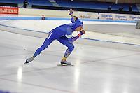 SCHAATSEN: HEERENVEEN: 03-02-2017, KPN NK Junioren, Junioren A Heren 500m, Niek Deelstra, ©foto Martin de Jong