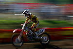 Casey Clark (161) competes on the course at the Unadilla Valley Sports Center in New Berlin, New York on July 16, 2006, during the AMA Toyota Motocross Championship.