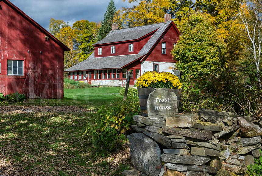 Poet Robert Frost Stone House Museum, Shaftsbury, Vermont, USA.