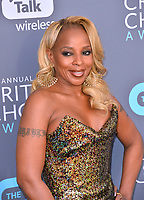 Mary J. Blige at the 23rd Annual Critics' Choice Awards at Barker Hangar, Santa Monica, USA 11 Jan. 2018<br /> Picture: Paul Smith/Featureflash/SilverHub 0208 004 5359 sales@silverhubmedia.com