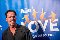 LAS VEGAS, NV - July 14, 2016: Kevin Dillon pictured arriving at The Beatles LOVE by Cirque Du Soleil at The Mirage Resort in Las vegas, NV on July 14, 2016. Credit: Erik Kabik Photography/ MediaPunch