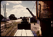 View of freight from car top.<br /> D&amp;RGW