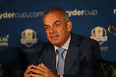 Paul McGinley announces that Ian Poulter (ENG), Stephen Gallacher (SCO) and Lee Westwood (ENG) are his Captain's Picks, during the Team Europe Ryder Cup Press Conference at the Wentworth Club, Virginia Waters, England. Picture:  David Lloyd / www.golffile.ie