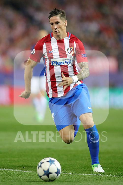 Atletico de Madrid's Fernando Torres during Champions League 2016/2017 Quarter-finals 1st leg match. April 12,2017. (ALTERPHOTOS/Acero)