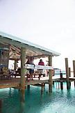 EXUMA, Bahamas. The Compass Cay Marina.