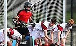 Rankin Cup Hockey, KINGS COLLEGE V SCOTS COLLEGE, Knockout Round, Kolmar Hockey Turf, Papatoetoe, Auckland, New Zealand,  Wednesday 2 September 2015. Photo: Simon Watts/www.bwmedia.co.nz