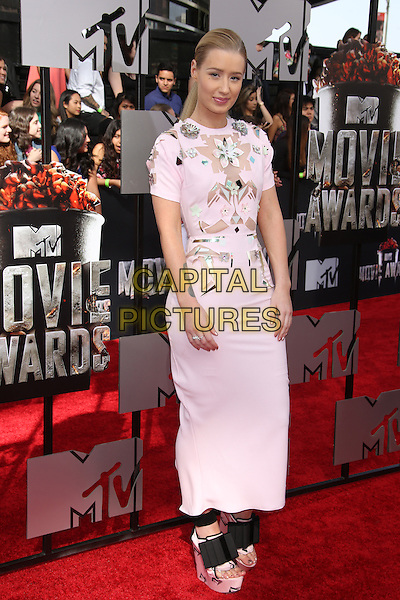 LOS ANGELES, CA - APRIL 13: Iggy Azalea at the 2014 MTV Movie Awards at Nokia Theatre L.A. Live on April 13, 2014 in Los Angeles, California. <br /> CAP/MPI/JO<br /> &copy;Janice Ogata/MediaPunch/Capital Pictures