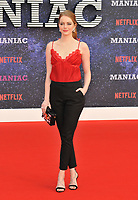 Emma Stone at the &quot;Maniac&quot; UK TV premiere, Southbank Centre, Belvedere Road, London, England, UK, on Thursday 13 September 2018.<br /> CAP/CAN<br /> &copy;CAN/Capital Pictures