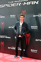 Andrew Garfield - The Amazing Spider-Man - photocall in Madrid NORTEPHOTO.COM<br />
