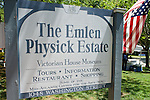 The Emlen Physick Estate in Cape May, NJ, hosted Jazz at the Estate as part of the Exit 0 International Jazz Festival's three-day May 2015 event. Producer Michael Kline assembled an all-star lineup that included the Rebirth Brass Band, Charenee Wade, Joe Locke, the Melissa Aldana & Crash Trio and the Dylan Reiss Quartet.