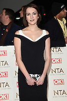 Charlotte Ritchie<br /> at the National TV Awards 2017 held at the O2 Arena, Greenwich, London.<br /> <br /> <br /> &copy;Ash Knotek  D3221  25/01/2017