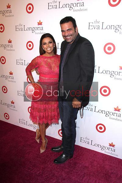 Eva Longoria, Ricardo Chavira<br /> at the Eva Longoria Foundation Dinner, Beso, Hollywood, CA 09-29-13<br /> David Edwards/Dailyceleb.com 818-249-4998