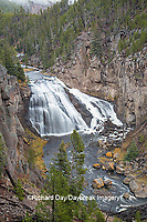 67545-09705 Gibbon Falls at Yellowstone National Park, WY