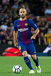 Javier Alejandro Mascherano of FC Barcelona in action during the La Liga 2017-18 match between FC Barcelona and Malaga CF at Camp Nou on 21 October 2017 in Barcelona, Spain. Photo by Vicens Gimenez / Power Sport Images