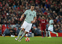 Bayern Munich's Niklas Sule<br /> <br /> Photographer Rich Linley/CameraSport<br /> <br /> UEFA Champions League Round of 16 First Leg - Liverpool and Bayern Munich - Tuesday 19th February 2019 - Anfield - Liverpool<br />  <br /> World Copyright © 2018 CameraSport. All rights reserved. 43 Linden Ave. Countesthorpe. Leicester. England. LE8 5PG - Tel: +44 (0) 116 277 4147 - admin@camerasport.com - www.camerasport.com
