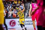 Jordan CRAWFORD (#1 MHP Riesen Ludwigsburg) \ beim Spiel in der Basketball Bundesliga, MHP Riesen Ludwigsburg - Telekom Baskets Bonn.<br /> <br /> Foto &copy; PIX-Sportfotos *** Foto ist honorarpflichtig! *** Auf Anfrage in hoeherer Qualitaet/Aufloesung. Belegexemplar erbeten. Veroeffentlichung ausschliesslich fuer journalistisch-publizistische Zwecke. For editorial use only.
