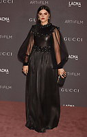 LOS ANGELES, CA - NOVEMBER 04: Singer-songwriter/actor Soko attends the 2017 LACMA Art + Film Gala Honoring Mark Bradford and George Lucas presented by Gucci at LACMA on November 4, 2017 in Los Angeles, California.<br /> CAP/ROT/TM<br /> &copy;TM/ROT/Capital Pictures