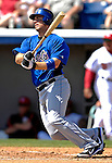 12 March 2007: New York Mets third baseman David Wright in action against the Washington Nationals at Space Coast Stadium in Viera, Florida. <br /> <br /> Mandatory Photo Credit: Ed Wolfstein Photo