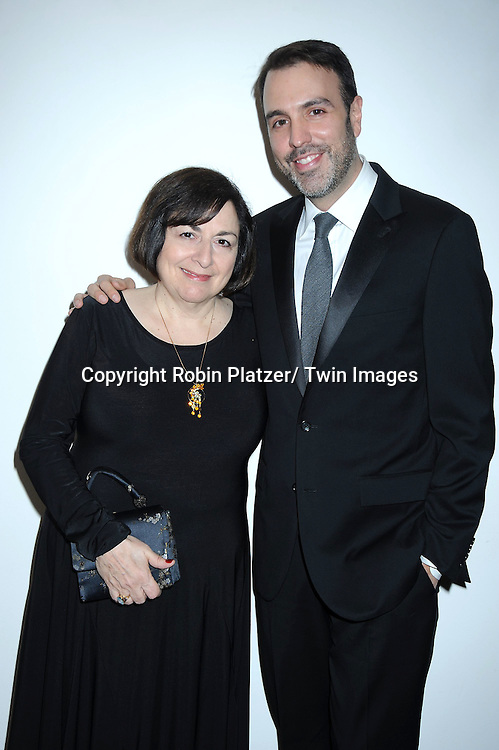 Jean Passanante and Ron Carlivati attending The 63rd Annual Writers Guild Awards on February 5, 2011 at the AXA Equitable Center in New York City.