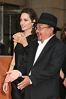 DIRECTOR ANGELINA JOLIE AND RITHY PANH - RED CARPET OF THE FILM 'FIRST THEY KILLED MY FATHER' - 42ND TORONTO INTERNATIONAL FILM FESTIVAL 2017