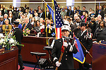 Opening day ceremonies on the Assembly floor at the Legislature in Carson City, Nev. on Monday, Feb. 7, 2011..Photo by Cathleen Allison
