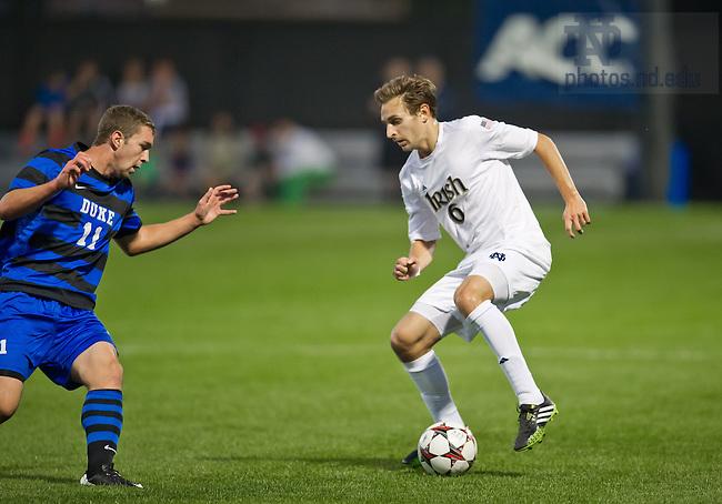 Sept. 27, 2013; Men's Soccer vs Duke, Max Lachowecki (6).<br /> <br /> Photo by Matt Cashore/University of Notre Dame