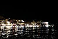 Old Harbor at Night