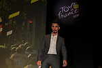 Julian Alaphilippe (FRA) at the Tour de France 2020 route presentation held in the Palais des Congrès de Paris (Porte Maillot), Paris, France. 15th October 2019.<br /> Picture: ASO/Thomas Colpaert | Cyclefile<br /> <br /> All photos usage must carry mandatory copyright credit (© Cyclefile | ASO/Thomas Colpaert)