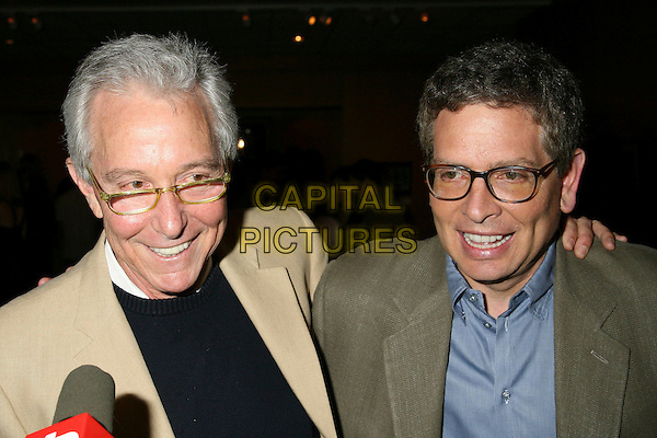 "JIM ABRAHAMS & DAVID ZUCKER.""Airplane!"", The 25 1/2 Year Anniversary Reunion at the AMPAS Samuel Goldwyn Theatre, Beverly Hills, California, USA, 19 May 2006..portrait headshot.Ref: ADM/BP.www.capitalpictures.com.sales@capitalpictures.com.©Byron Purvis/AdMedia/Capital Pictures."