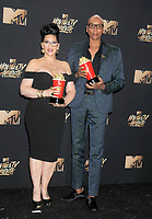 Michelle Visage &amp; Rupaul at the 2017 MTV Movie &amp; TV Awards at the Shrine Auditorium, Los Angeles, USA 07 May  2017<br /> Picture: Paul Smith/Featureflash/SilverHub 0208 004 5359 sales@silverhubmedia.com