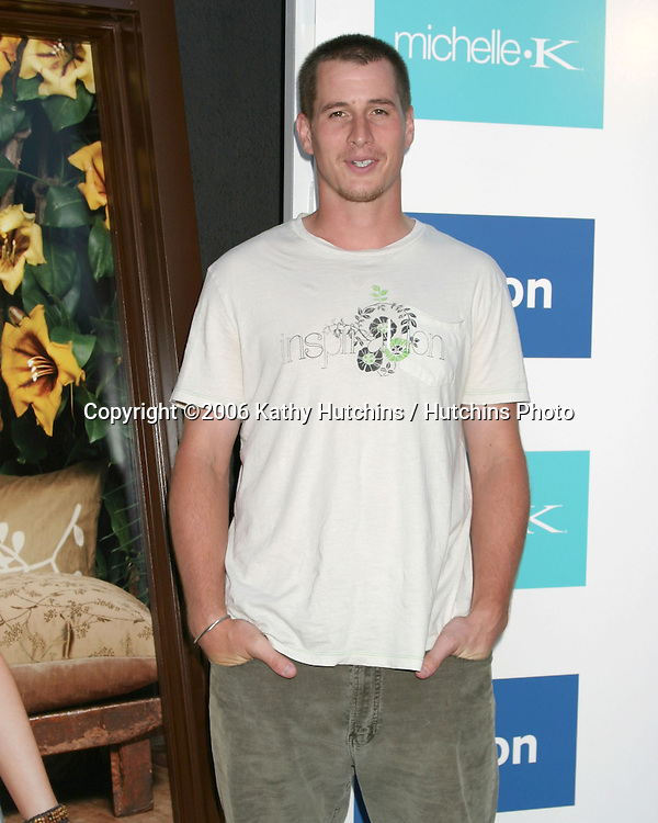 Brendan Fehr.Evangeline Lilly is celebrated as the New Face of Michelle K Footwear at a party at Kitson Boutique.W. Hollywood, CA.June 15, 2006.©2006 Kathy Hutchins / Hutchins Photo....