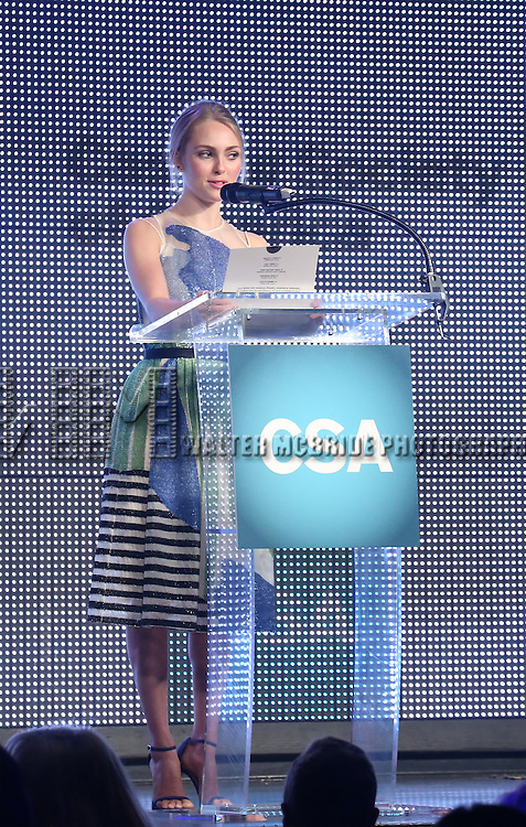 AnnaSophia Robb during the 30th Annual Artios Awards Presentation at 42 WEST on January 22, 2015 in New York City.